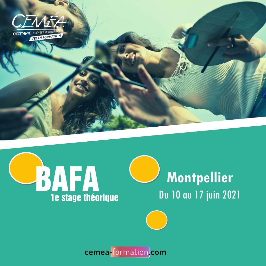 Montpellier, du 10 au 17 juin - BAFA 1